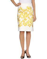 Thakoon Knee Length Skirt - Lyst