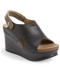 Otbt 'Blue Hill' Wedge Sandal - Lyst