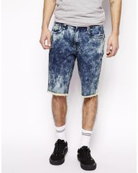 Altamont - Almeda Denim Shorts In Slim Fit - Lyst