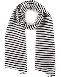 Engineered Garments - Striped Scarf - Lyst