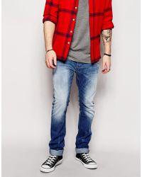 Diesel Jeans Thavar 823S Slim Fit Mid Wash - Lyst