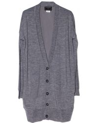 By Malene Birger Silk Back Rossella Cardigan - Lyst