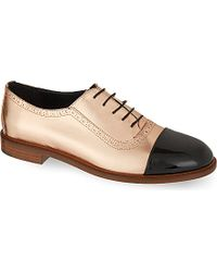 Meandher Lulu Brogues - For Women - Lyst