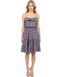 Ella Moss Stripe Dress - Lyst