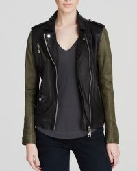 Doma Jacket - Lamb Leather Moto - Lyst