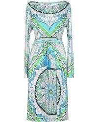 Emilio Pucci 3/4 Length Dress - Lyst