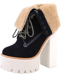 Jeffrey Campbell Incharge blue - Lyst