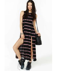 Nasty Gal Fever Moon Maxi Dress - Lyst