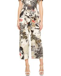 Donna Karan New York Cropped Lantern Pant - Lyst