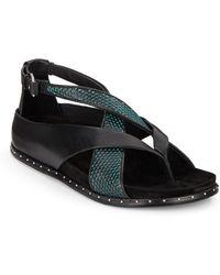 L.A.M.B. - Bellatrix Leather Sandals - Lyst