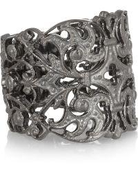 Iam By Ileana Makri - Duchess Oxidized Silver Ring - Lyst