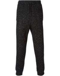 T By Alexander Wang - Spotted Track Pants - Lyst