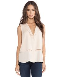 Theory Gentaire Tank - Lyst