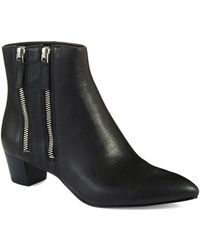 Nine West Tunic Ankle Boots - Lyst