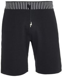 Christopher Kane Striped Track Shorts - Lyst