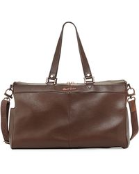 Robert Graham Sirocco Leather Duffle Bag - Lyst