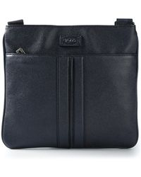 Tod's | Striped Detail Messenger Bag | Lyst