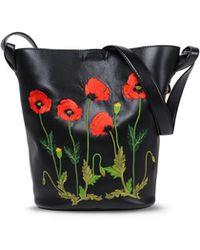 Stella McCartney | Botanical Embroidered Bucket Bag | Lyst