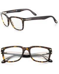 Tom Ford Square Optical Glasses - Lyst