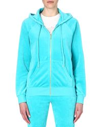 Juicy Couture Classic Velour Hoody - Lyst