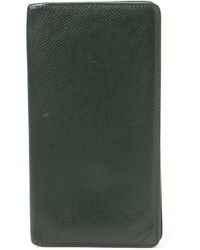 Louis Vuitton Green Organizer Wallet - Lyst