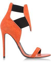 Gianmarco Lorenzi Sandals red - Lyst