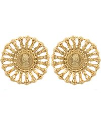 Kastur Jewels - Victorian Regal Statement Earrings - Lyst