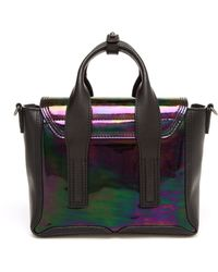 3.1 Phillip Lim Iridescent Mini Pashli Satchel - Lyst