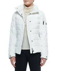 Bogner Sale Puffer Fur-trim Hooded Jacket - Lyst