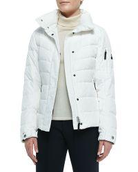 Bogner Sale Puffer Fur-Trim Hooded Jacket - Lyst