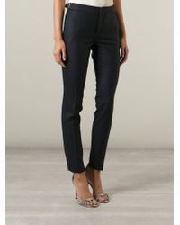 Gucci Blue Tailored Trousers - Lyst