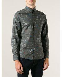 Paul Smith Graphic Windows Printed Shirt - Lyst