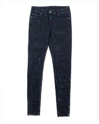 Cheap Monday Him Spray Jeans Ice Stripes In Spray-On Fit - Lyst