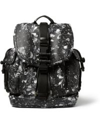 Givenchy Camo Flowerprint Leather Backpack - Lyst