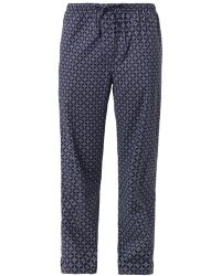 Derek Rose Arlo Graphic-print Lounge Pants - Lyst