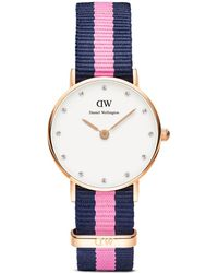 Daniel Wellington Classy Winchester Watch, 26Mm blue - Lyst