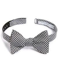 John W. Nordstrom - 'sicard' Check Silk Bow Tie - Lyst