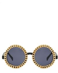 Nasty Gal Rolled Gold Shades - Lyst