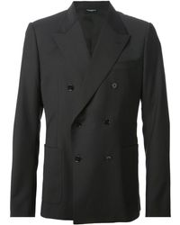 Dolce & Gabbana Double Breasted Jacket - Lyst