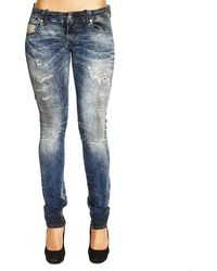 Diesel Jeans Denim Grupee Used Regular Rotture - Lyst