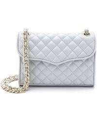 Rebecca Minkoff Quilted Mini Affair Bag - Seashell - Lyst