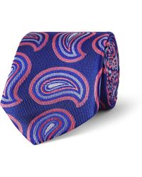 Turnbull & Asser Patterned Silk Tie - Lyst