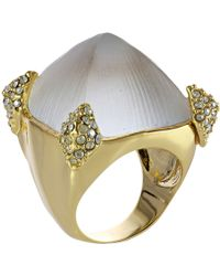 Alexis Bittar Large Paved Prong Ring - Lyst