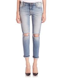 Joe's Jeans | Blakely Distressed Ankle Skinny Jeans | Lyst