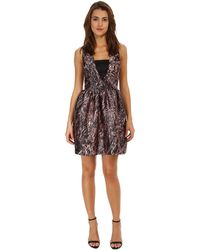 McQ by Alexander McQueen Long V Party Dress - Lyst