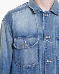 Miharayasuhiro - Long Denim Jacket - Lyst