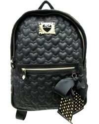Betsey Johnson Be My Sweetheart Quilted Backpack - Lyst
