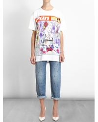 House Of Holland The Pun Oversized T-shirt - Lyst