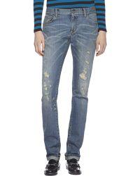 Gucci Stonebleached Denim Jeans - Lyst