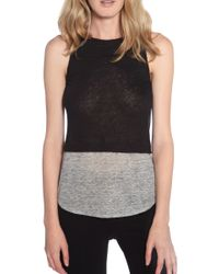 A.L.C. Luella Top black - Lyst